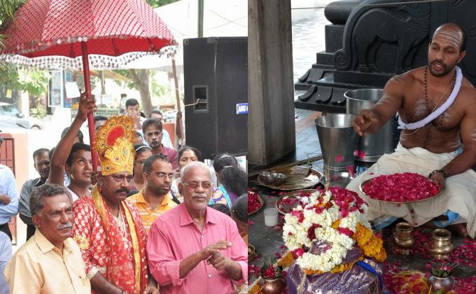 Thiruvonam and Foundation Day at Shree Ayyappa Temple, Mahaveer Nagar, Jaipur